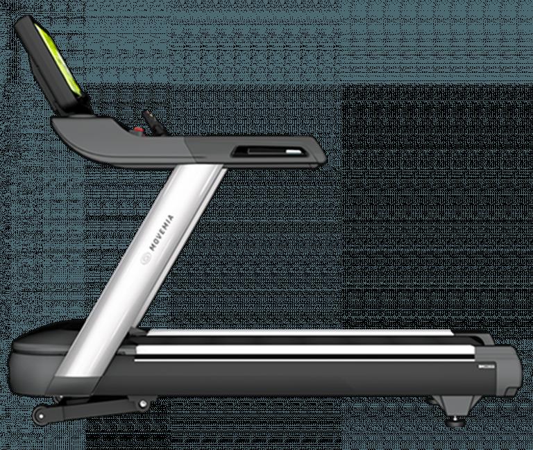 Vista lateral de la cinta de correr TR1000